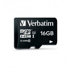 Verbatim Pro 16GB MicroSDHC UHS Classe 10 memoria flash