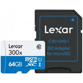 Lexar 64GB microSDXC 64GB MicroSDXC UHS-I Classe 10 memoria flash
