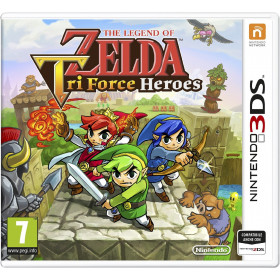 Nintendo The Legend of Zelda: Tri Force Heroes Basic Nintendo 3DS ITA videogioco