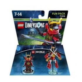 Warner Bros LEGO Dimensions Fun Pack - Ninjago Nya personaggio per gioco di costruzione