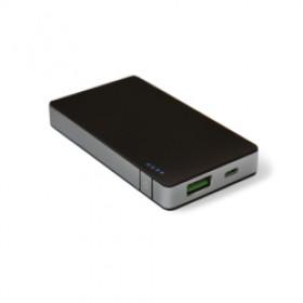 Celly PB4000ALUSV Ioni di Litio 4000mAh Nero, Argento batteria portatile