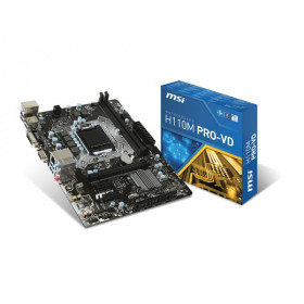 MOTHERBOARD MSI H110M PRO VD
