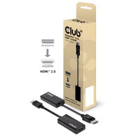 CLUB3D Displayport™ 1.2 to HDMI™ 2.0 UHD Active Adapter