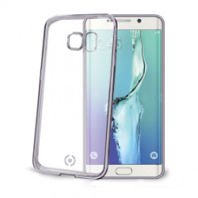 Celly BCLS6EPDS Cover Argento, Trasparente custodia per cellulare