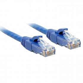 Lindy 48017 cavo di rete 1 m Cat6 U/UTP (UTP) Blu