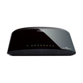 D-Link DES-1008D Commutatore di rete non gestita Fast Ethernet (10/100) Nero