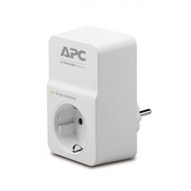 APC ESSENTIAL SURGEARREST protezione da sovraccarico 1 presa(e) AC 230 V Bianco