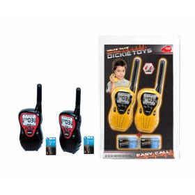 Dickie Toys Walkie Talkie Easy Call 80m walkie talkie per bambino