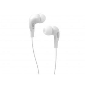 SBS Studio Mix 10 auricolare per telefono cellulare Stereofonico Bianco Cablato