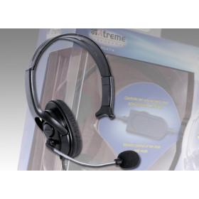 Xtreme 90474 auricolare Monofonico Padiglione auricolare Nero