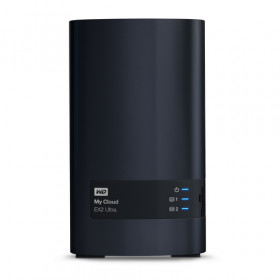 Western Digital My Cloud EX2 Ultra Collegamento ethernet LAN Scrivania Black NAS