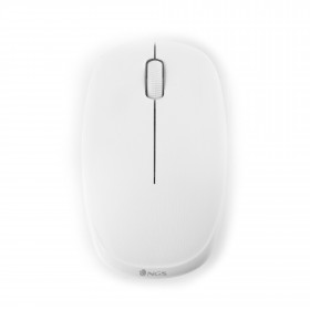 NGS Fog RF Wireless Ottico 1200DPI Ambidestro Bianco mouse