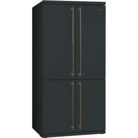 Smeg FQ60CAO Libera installazione 540L A+ Antracite frigorifero side-by-side
