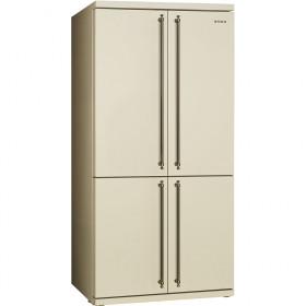 Smeg FQ60CPO Libera installazione 540L A+ Beige frigorifero side-by-side