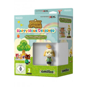 Nintendo Animal Crossing: Happy Home Designer + amiibo Isabelle Basic Nintendo 3DS ITA videogioco