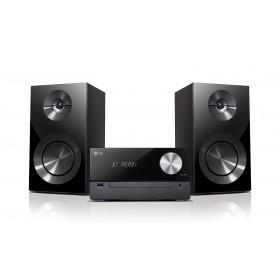 LG CM2460 set audio da casa Microsistema audio per la casa Nero 100 W