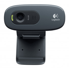 Logitech C270 webcam 3 MP 1280 x 720 Pixel USB 2.0 Nero