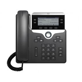 Cisco 7821 telefono IP Nero, Argento Cornetta cablata 2 linee
