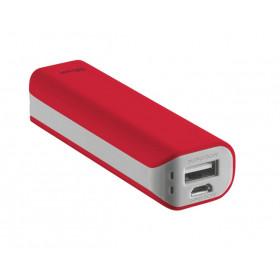 Trust Primo 2200 2200mAh Rosso batteria portatile