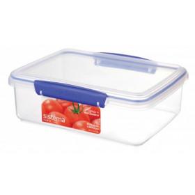 Sistema 1700 Rettangolare Scatola 2L Blu, Trasparente 1pezzo(i) recipiente per cibo