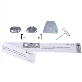 Ergotron 98-017 accessorio per carrello multimediale Kit di montaggio Metallico