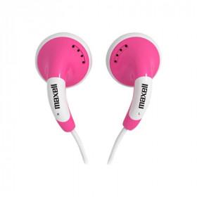 Maxell 303752 auricolare per telefono cellulare Stereofonico Rosa, Bianco