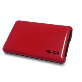 """Nilox DH0002RD contenitore di unità di archiviazione 2.5"""" Enclosure HDD Rosso"""
