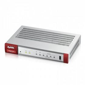 ZyXEL USG20W-VPN-EU0101F Dual-band (2.4 GHz/5 GHz) Gigabit Ethernet Grigio, Rosso router wireless