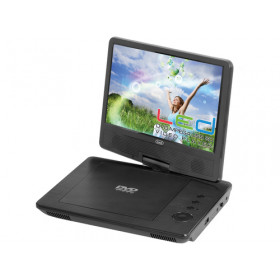 "Trevi PDX 1409 Portable DVD player Convertibile Nero 22,9 cm (9"") 800 x 480 Pixel"