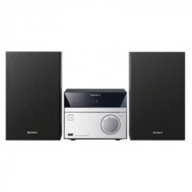 Sony CMT-SBT20B 12W Nero, Argento