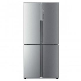 Haier HTF-456DM6 Libera installazione 456L A+ Acciaio inossidabile frigorifero side-by-side