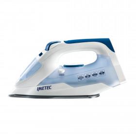 Imetec TITANOX K109 Ferro da stiro a secco e a vapore Acciaio inossidabile Blu, Bianco 2000 W