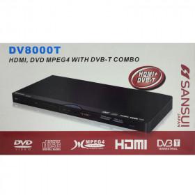 Lettore DivX + DVB-T con HDMI SANSUI DV8000T