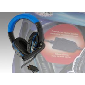 Xtreme 90476 Stereofonico Padiglione auricolare Nero, Blu cuffia e auricolare