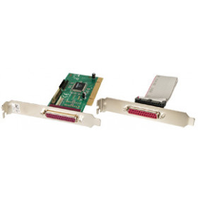Lindy 2-port Parallel PCI Card scheda di interfaccia e adattatore