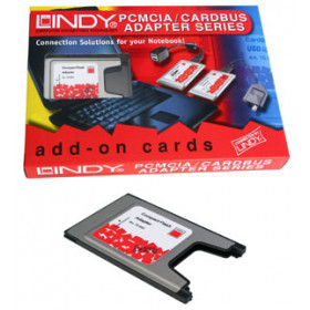 Lindy PCMCIA Compact Flash Adaptor Card scheda di interfaccia e adattatore