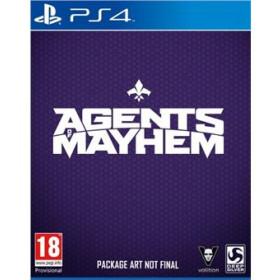 Koch Media Agents of Mayhem, PS4 Basic PlayStation 4 Inglese videogioco