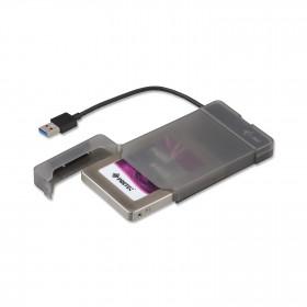 "i-tec MYSAFEU313 contenitore di unità di archiviazione 2.5"" Enclosure HDD/SSD Nero"