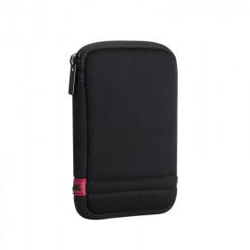 Rivacase 5101 Custodia a tasca Maglia Nero, Rosso
