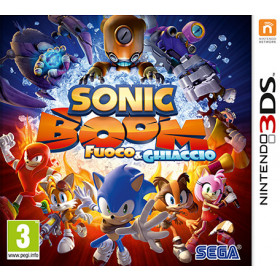 3DS SONIC BOOM FIRE   ICE