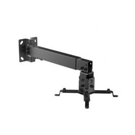 Equip 650702 supporto per proiettore Parete Nero