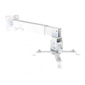 Equip 650703 supporto per proiettore Parete Bianco