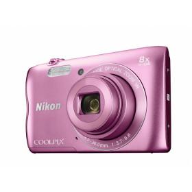 """Nikon COOLPIX A300 Fotocamera compatta 20,1 MP CCD 5152 x 3864 Pixel 1/2.3"""" Rosa"""