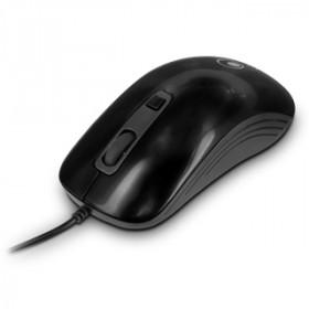 Atlantis Land OptiDesk USB mouse Ottico 1000 DPI Nero