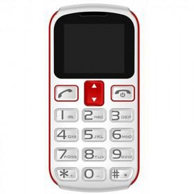 MOBILE PHONE GLAM\'\'OUR RUDY SENIOR PHONE RED ITALIA