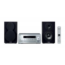 Yamaha MCR-N470D Microsistema audio per la casa Nero, Argento 44 W