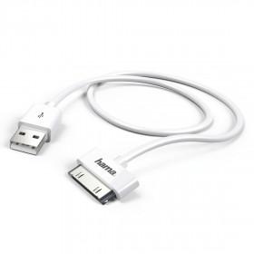 Hama 173642 1m USB-A 30-Pin Apple Bianco cavo per cellulare