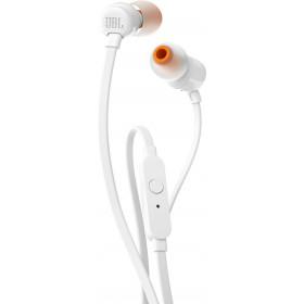 JBL T110 Auricolare Stereofonico Cablato Bianco auricolare per telefono cellulare