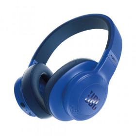 JBL E55BT auricolare per telefono cellulare Stereofonico Padiglione auricolare Blu Cablato