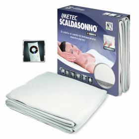 Imetec Scaldasonno Sensitive Maxi Sing 150 W Bianco Microfibra